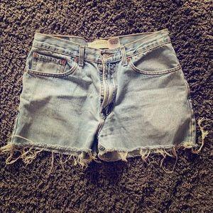 Women's Levi's High-waisted Jean Shorts
